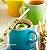 Caneca Cappuccino 200 ml Azul Caribe  - Le Creuset - Imagem 2