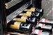 Adega inox para embutir 320 litros para 122 garrafas Crissair 220V - Imagem 5