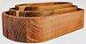 Conjunto de Petisqueiras Ofurô Madeira Teca 3 peças - ARZ Home Design - Imagem 1