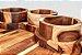 Petisqueira Ipiranga Madeira Teca 4 peças - ARZ Home Design - Imagem 4