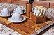 Bandeja Itaim Madeira Teca - ARZ Home Design - Imagem 3