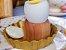 Conjunto de Porta Ovo Coque Madeira Teca 2 peças - ARZ Home Design - Imagem 5