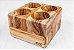 Porta talheres Trou-Madeira Teca- ARZ Home Design - Imagem 1
