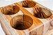 Porta talheres Trou-Madeira Teca- ARZ Home Design - Imagem 3