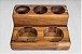 Porta tempero Cinq--Madeira Teca-  ARZ Home Design - Imagem 3