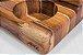 Porta tempero Cinq--Madeira Teca-  ARZ Home Design - Imagem 4