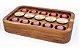 Porta capsulas Café(compatívvel com Dolce Gusto) -Madeira Teca- Tamanho G-ARZ Home Design - Imagem 2