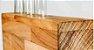 Centro de Mesa Margarida Ter Madeira Teca e Vidro  - ARZ Home Design - Imagem 2