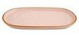 Bandeja em Cerâmica Rosa e Dourado - 2  x 26,5x13,5 cm - Imagem 1