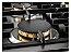 Fogão de mesa a gás inox escovado 75m 5 queimadores com tripla chama Lateral Vintage - Tecno - Imagem 2
