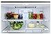 Refrigerador French door, 636 litros, ICE MAKER,  piso ou embutido, 2 gavetas freezer, Inverter, 127V Vintage - Tecno - Imagem 2