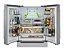 Refrigerador French door, 636 litros, ICE MAKER,  piso ou embutido, 2 gavetas freezer, Inverter, 127V Vintage - Tecno - Imagem 3