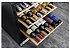 Adega para vinhos e espumantes, 136 litros, 43 garrafas 750 ml, piso ou embutir, Dual Zone, Inox, 220V Vintage - Tecno - Imagem 2