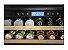 Frigobar, vidro triplo, 136 litros, piso ou embutir, LED, Inox, Frost Free, Alarme, 220V Vintage - Tecno - Imagem 2