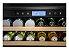 Cervejeira, Porta Reversível, vidro triplo, 136 litros, piso ou embutir, LED, Inox, Frost Free, Alarme, 220V Vintage - Tecno - Imagem 2
