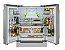 Refrigerador French door, 636 litros, ICE MAKER, Inox, piso ou embutido, 2 gavetas freezer, Inverter, 127V Professional - Tecno - Imagem 4