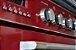 Fogão Eredità de 5 queimadores forno elétrico Burgundy Vintage  - Elanto  - Imagem 4