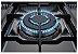 Fogão a gás professional inox escovado 5 queimadores sendo, Turbo forno elétrico - Lofra - Imagem 6