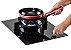 Fogão de mesa a gás vitrocerâmico,1 queimador profissional Super Dual Flame de 8 Kw - Tecno - Imagem 7