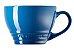 Caneca Bistrô 400 ml Azul Marseille- Le Creuset - Imagem 2