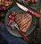 Jogo de Talheres para Churrasco Jumbo Tramontina em Aço Inox com Cabo Vermelho Polywood 12 Peças - Imagem 5