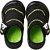 Tênis Klin New Confort Preto/verde - Imagem 1