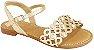 Sandália Pampili Belle Dourada  - Imagem 1