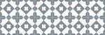 Adesivo para piso ladrilho geometrico cinza e branco - Imagem 3