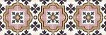 Adesivo para piso ladrilho mediterraneo antiderrapante lavável - Imagem 3