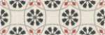 Adesivo para piso floral indiano impermeável antiderrapante - Imagem 3