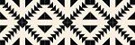 Adesivo de piso apache preto e branco lavável - Imagem 3