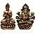 Kit Estátua de Buda + Ganesha Flor de Lotus 15cm  - Imagem 2
