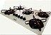 Cooktop à Gás Braslar 5 Bocas 10050014 Acendimento Automático Branco - Imagem 1