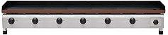 CH 2.156 Chapa Para Lanches a Gás 150 x 50 Cm Com Prensa Linha Profissional 6 Queimadores Marchesoni - Imagem 3