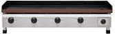 CH 2.104 Chapa Para Lanches a Gás 100 x 50 Cm Com Prensa Linha Profissional 4 Queimadores Marchesoni - Imagem 3