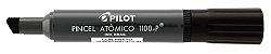MARCADOR PINCEL ATÔMICO 1100-P PRETO - PILOT - Imagem 1