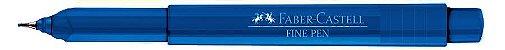 CANETA FINE PEN 0.4MM AZUL - FABER-CASTELL - Imagem 2