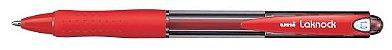 CANETA ESFEROGRÁFICA LAKNOCK SN-100 1.0MM VERMELHA - UNI-BALL - Imagem 1