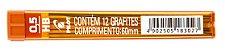 GRAFITE 0.5MM HB C/12 GRAFITES - PILOT - Imagem 1