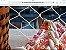 bolsa em fio de seda em 4 cores :salmão,rosa,laranja e marfim .Possue duas alças ;uma  pequena de resina cor marfim e outra comprida dourada . - Imagem 4