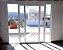 Porta Balcão perfectra max  3 folhas - aluminio Branco ou preto - Imagem 3
