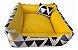 Cama Cachorro e Gato Pet Lavavel C/ Ziper Colors 60X60 + Brindes - Imagem 2