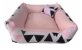 Cama Cachorro e Gato Pet Lavavel C/ Ziper Colors 60X60 + Brindes - Imagem 8