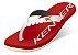 Sándalia Kenner Red Colors - Vermelho E Branco - Original - Imagem 1