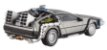 DeLorean de volta para o futuro - 1985 - Hot Wheels Elite 1:43 - Imagem 2
