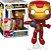 Funko Pop! - Iron Man - Vingadores Guerra Infinita (Avengers Infinity War) #285 - Imagem 2