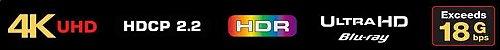Cabo AUDIOQUEST HDMI-Pearl - Polietileno Sólido alta densidade - Imagem 2