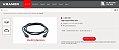 Cabo HDMI KRAMER - C–HM/HM– High–Speed HDMI Cable 4K@60Hz (4:4:4) - Imagem 3