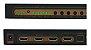 Switcher Chaveador Hdmi 3x1 4K Com Extrator De Áudio - Imagem 2