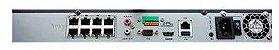 NVR Hikvision 8 CH IP / 8 POE - Imagem 3